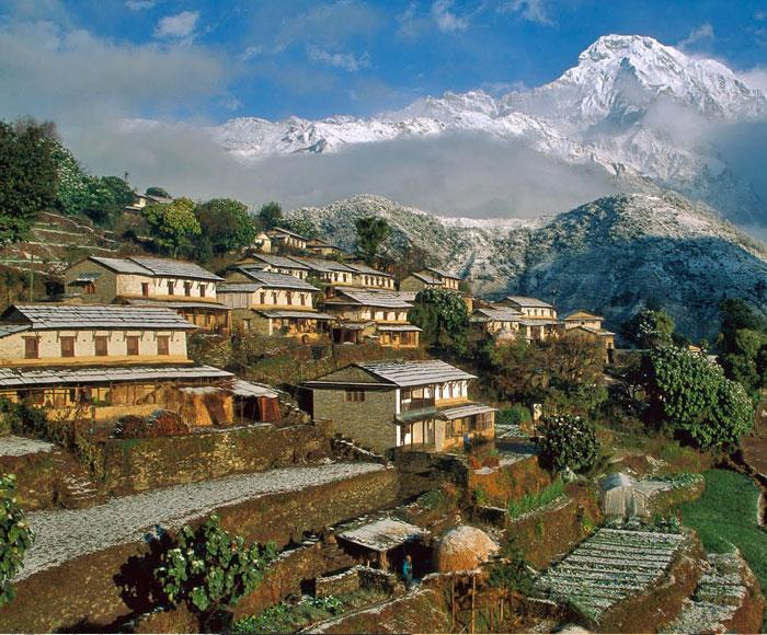 Alleys of Kathmandu: