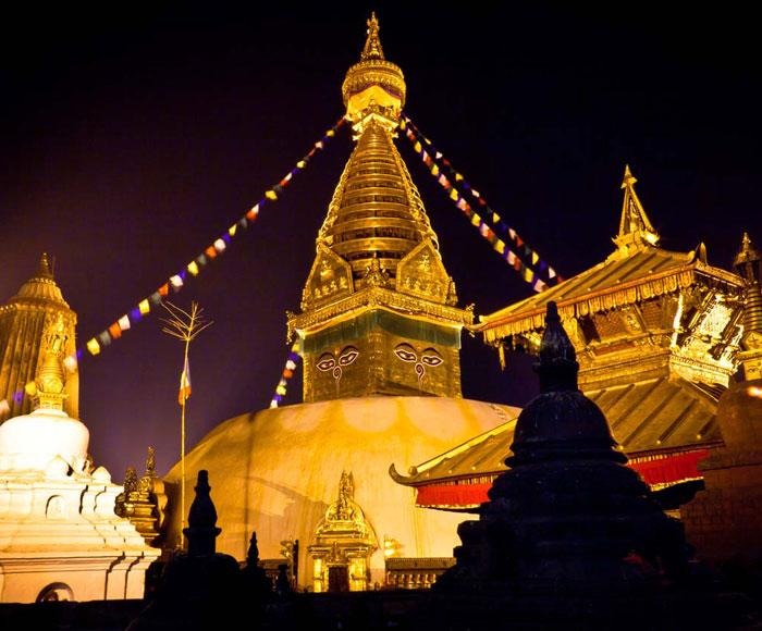 Kathmandu by evening